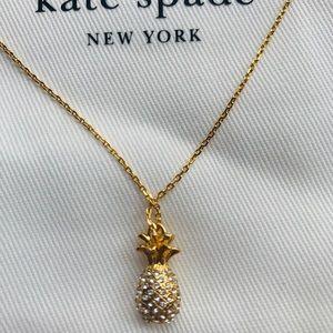 @ginamariegogo Kate Spade Pineapple Pendent bundle